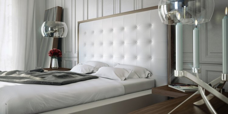 The Devon Modern Platform Bed