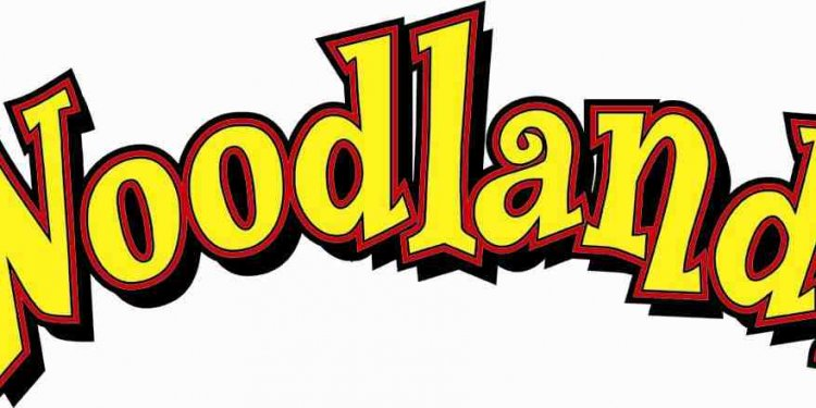 Woodlands theme park logo