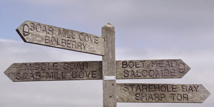 South West Coast Path Blog: