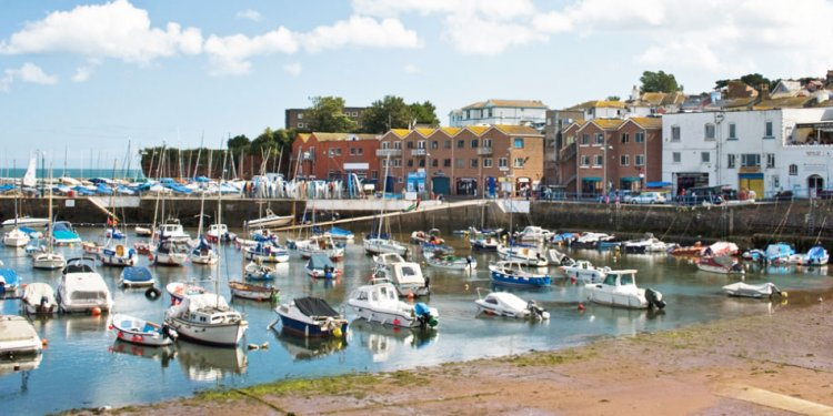 Paignton Harbour in Devon