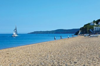 Torcross Beach, the southern end of Slapton Sands